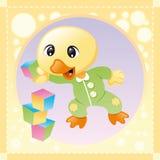 Pássaro pequeno ilustração royalty free