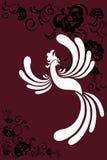 Pássaro um phoenix ilustração royalty free