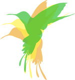 Pássaros coloridos Imagens de Stock Royalty Free