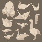 Pássaros de Origami Imagem de Stock Royalty Free
