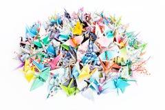 Pássaros de papel Fotografia de Stock Royalty Free