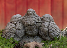 Pássaros de pedra velhos Foto de Stock Royalty Free