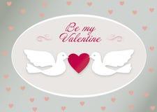 Pássaros do Valentim Foto de Stock Royalty Free