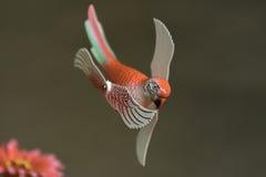 Pássaros falsificados dos testes padrões decorativos Imagens de Stock