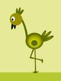 Pássaros longos do pé ilustração royalty free