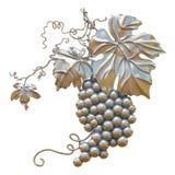 Pátina del oro de las uvas Imagen de archivo