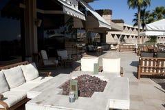 Pátio ao ar livre do hotel de recurso do Arizona Fotos de Stock Royalty Free