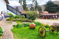 Pátio colonial em Tarma, Peru Imagem de Stock Royalty Free