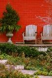 Pátio da casa Imagem de Stock Royalty Free