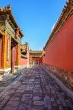 Pátio da Cidade Proibida no Pequim imagem de stock royalty free