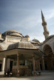 Pátio da mesquita de Sehzade (príncipe) Foto de Stock Royalty Free