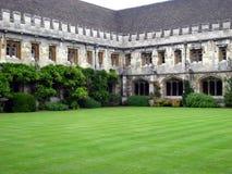 Pátio da universidade de Oxford Imagens de Stock