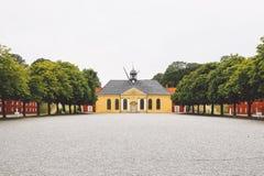 Pátio de Copenhaga Kastellet Fotografia de Stock
