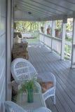 Pátio de entrada coberto do país Imagem de Stock Royalty Free