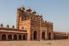 Pátio de Fatehpur Sikri India imagem de stock royalty free
