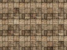 Pátio de madeira no estilo do parquet com Woodgrain alterno imagens de stock royalty free