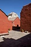 Pátio de Santa Catalina Imagem de Stock