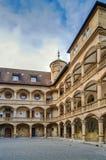 Pátio do castelo velho, Estugarda, Alemanha Imagem de Stock