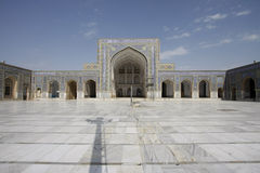Pátio do coração Jama Masjid Imagens de Stock