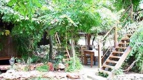 Pátio do jardim vídeos de arquivo