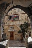 Pátio do Jerusalém imagem de stock royalty free