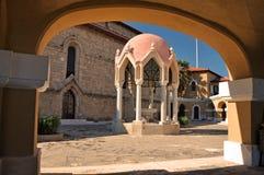 Pátio do palácio dos arcebispos Foto de Stock Royalty Free