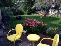 Pátio do quintal Fotografia de Stock Royalty Free