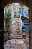 Pátio em Jerusalem. Imagem de Stock