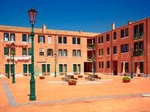 Pátio em Murano, Itália Fotografia de Stock Royalty Free