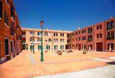 Pátio em Murano, Itália Imagens de Stock