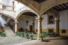 Pátio espanhol Imagem de Stock Royalty Free
