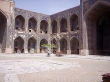 Pátio interno quadrado de Registan Fotos de Stock
