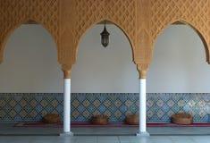 Pátio marroquino. Imagens de Stock