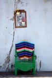 Pátio mexicano Imagens de Stock Royalty Free