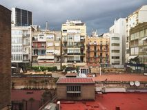 Pátio urbano Imagens de Stock