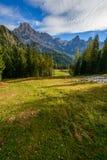 Pâlissez de San Martino en automne Photo stock