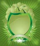 Pâlissez - l'écran protecteur vert illustration de vecteur