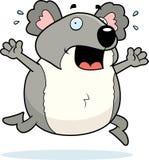 Pânico do Koala ilustração stock