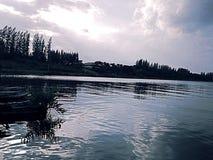 Pântano bonito no suburbano Foto de Stock