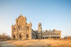 Pântano da igreja da pedra de Nanjing Imagens de Stock Royalty Free