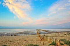 Pântano de sal velho Fotografia de Stock Royalty Free