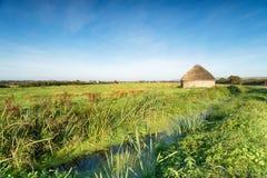Pântanos Linhay de Braunton Fotografia de Stock