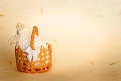 Pâques à crochet Photographie stock libre de droits