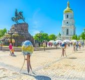 Pâques à Kiev Photo libre de droits