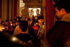 Pâques Église orthodoxe orientale Images libres de droits