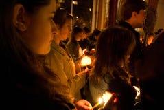 Pâques Église orthodoxe orientale Photos libres de droits