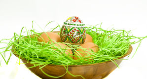 Pâques basket2 Images stock