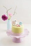 Pâques Bunny Cake photographie stock