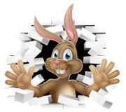 Pâques Bunny Rabbit Cartoon Character illustration stock