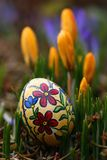 Pâques dans le jardin photo stock